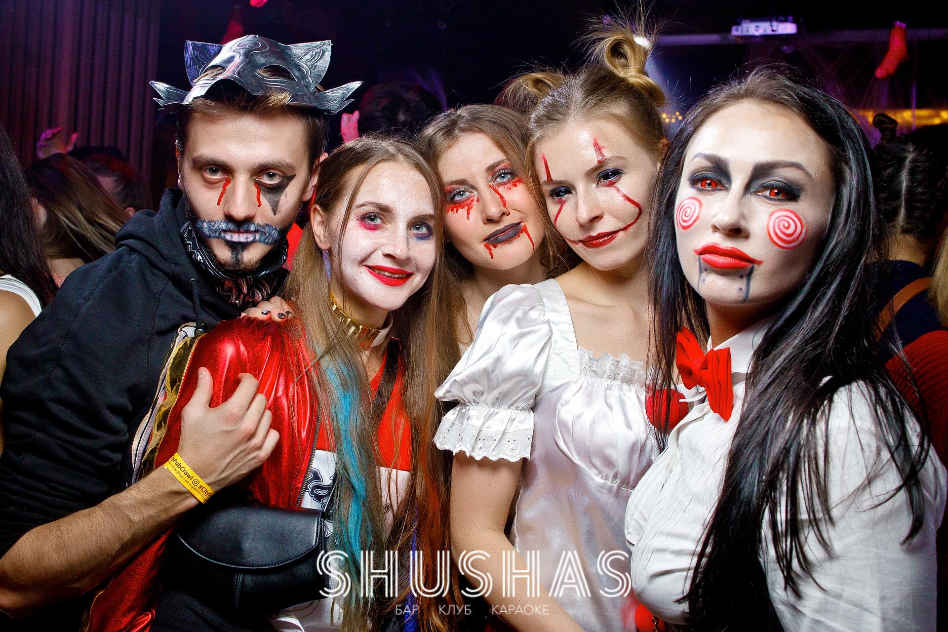 Halloween в москве клуб как одеваться в ночной клуб фото